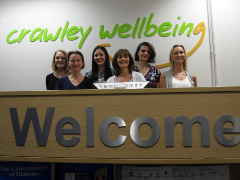 Crawley Wellbeing Frontline Team