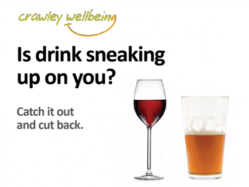 Is drink sneaking up on you?